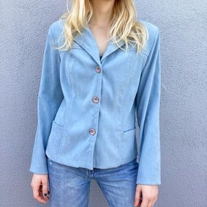 🌈3 for $15✨  Powder blue Clio petites coat